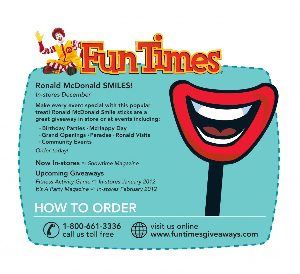 Ronald McDonald Smiles Newsletter