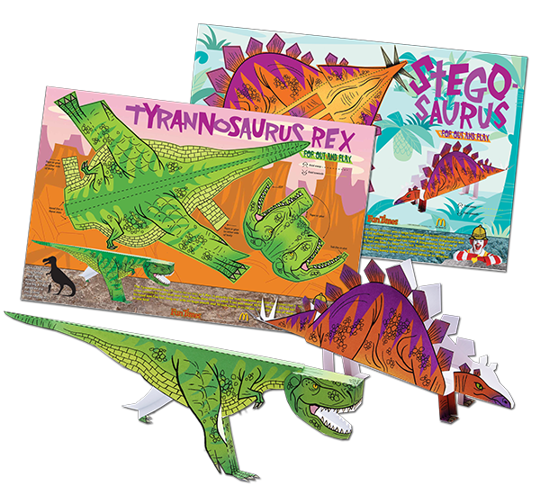 Dinosaur Pop-ups