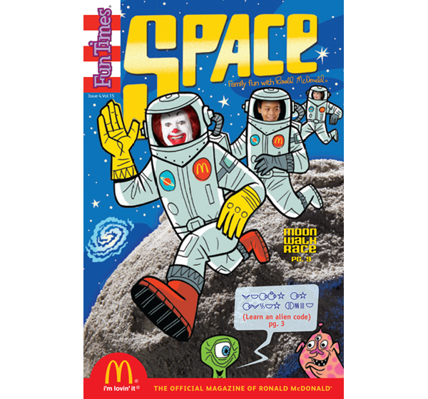 Space Activity Book
