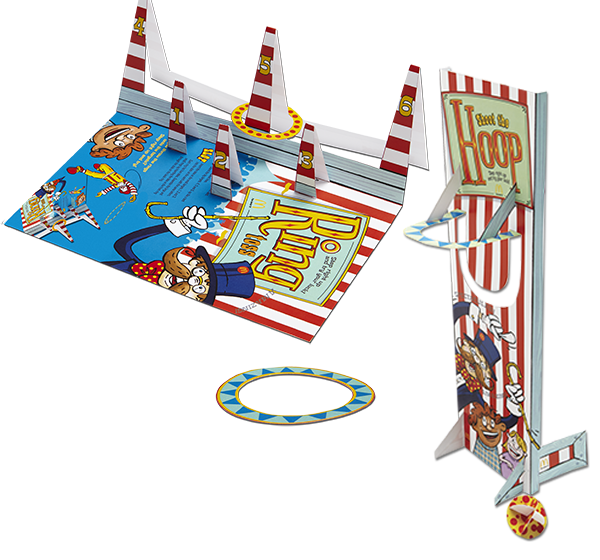 Ring Toss & Hoop Shot Midway Games
