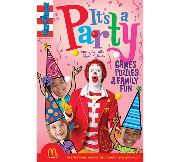 It's A Party Activity Book