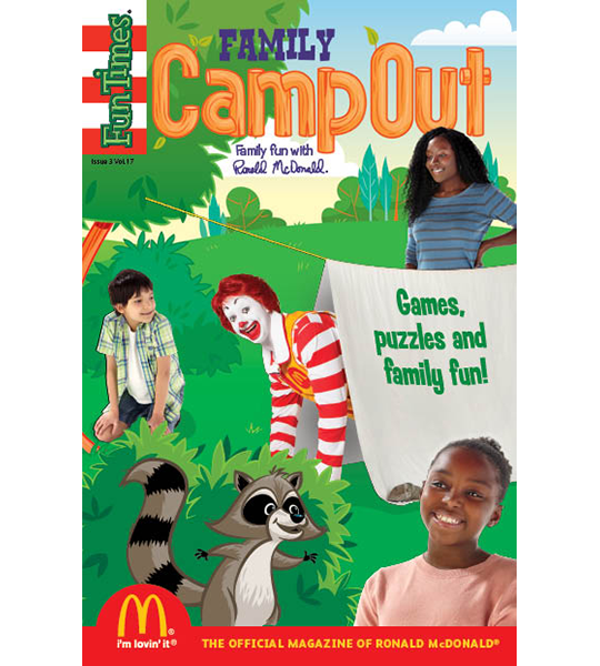 Camp Out Activity Book
