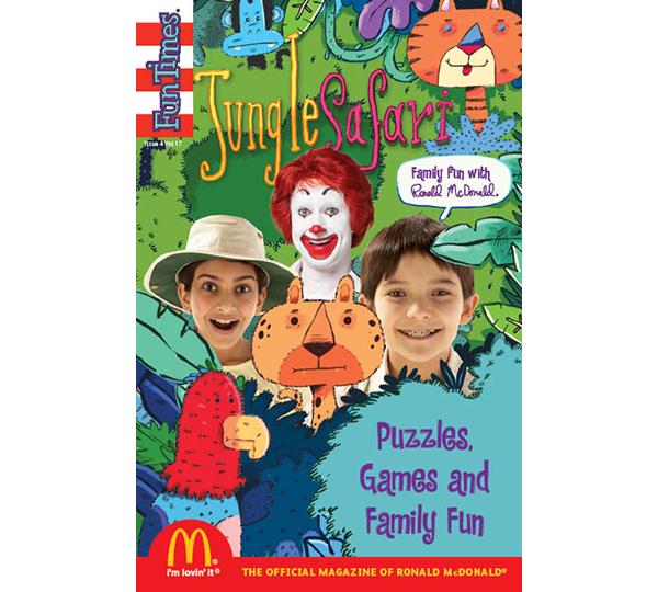 Jungle Safari Activity Book