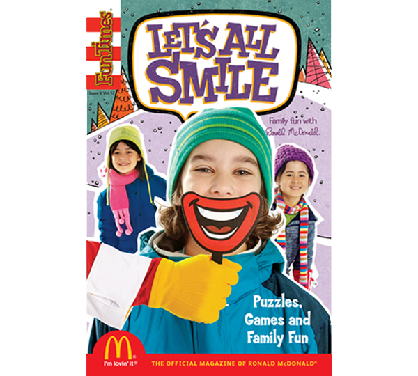 Let's All Smile Activity Book