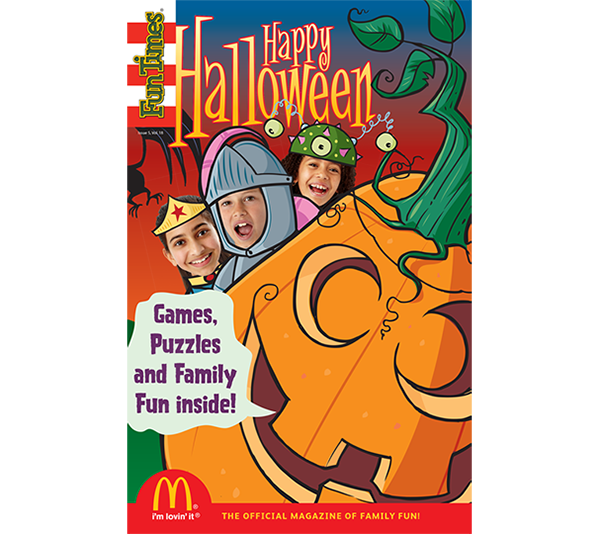 Happy Halloween Activity Book