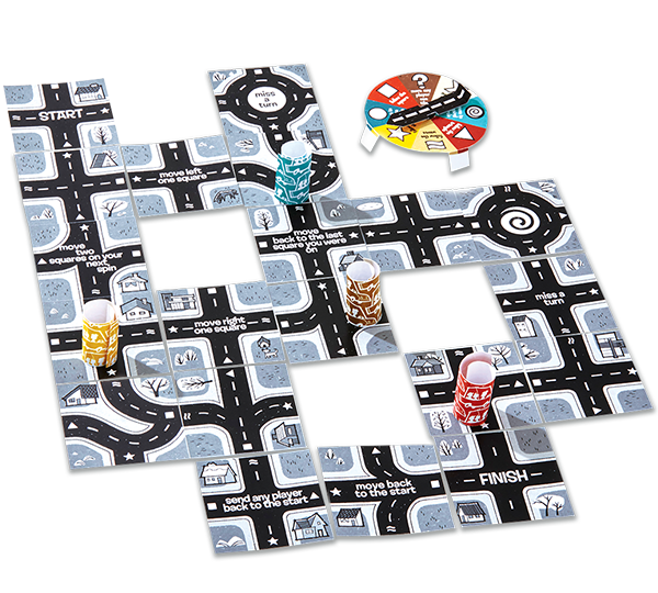 Road Trip Board Game
