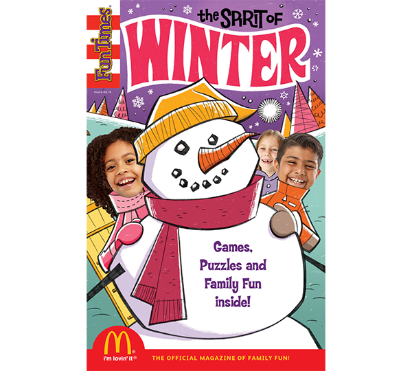 The Spirit of Winter Activity Book