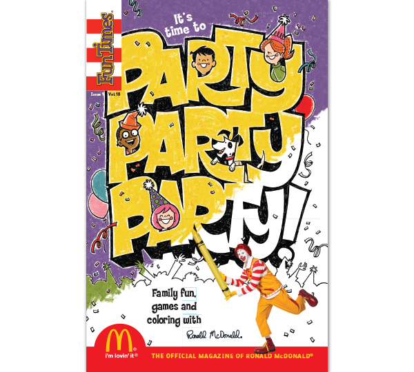 Party Party Party Activity Book