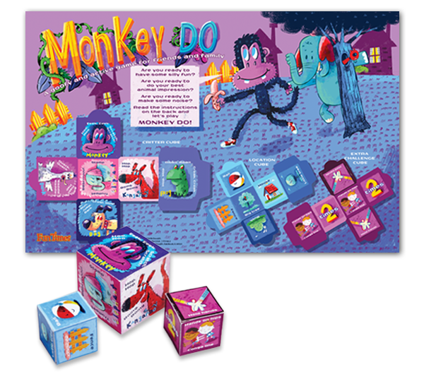 Monkey-Do Outdoor Cube Game