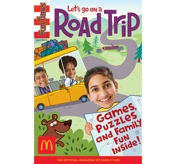 Road Trip Activity Book