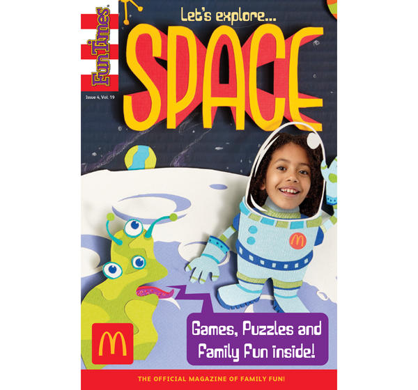 Let's Explore Space Activity Book