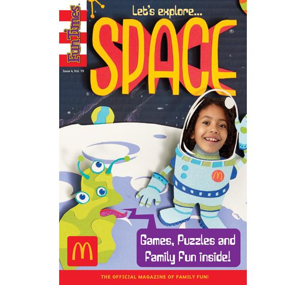 Let's Explore Space Activity Book