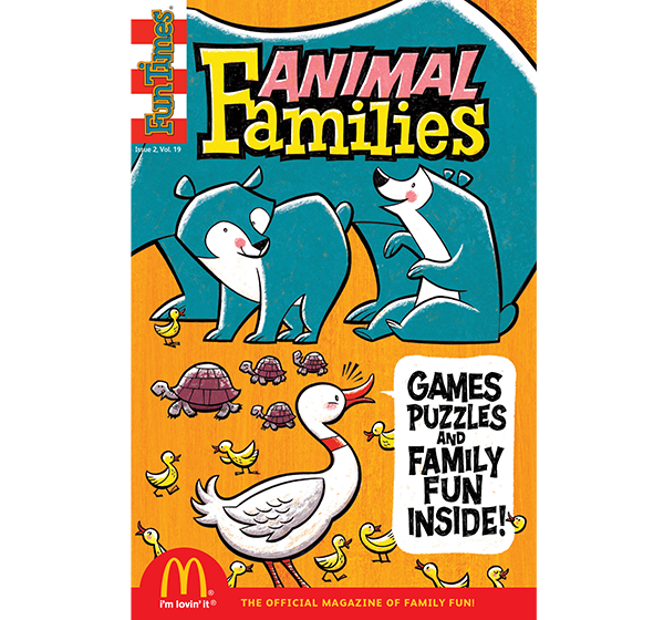 Animal Families Activity Book