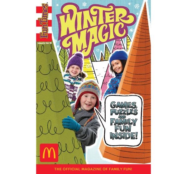 Winter Magic Activity Book