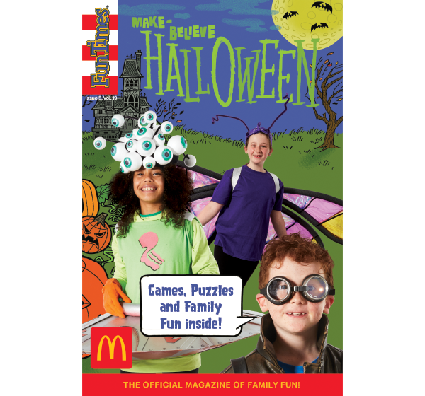 Make-Believe Halloween Activity Book