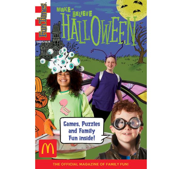 Make-Believe Halloween Activity Book