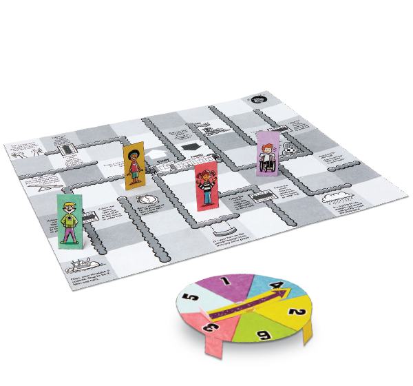 Recess Race Board Game