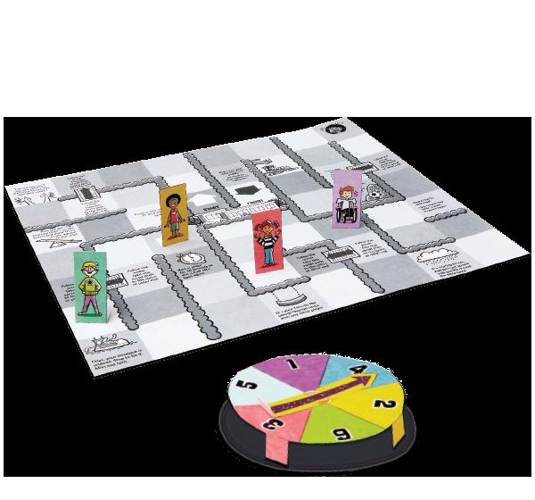 Recess Race Board Game