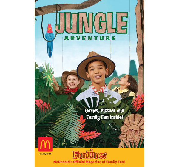 Jungle Adventure Activity Book