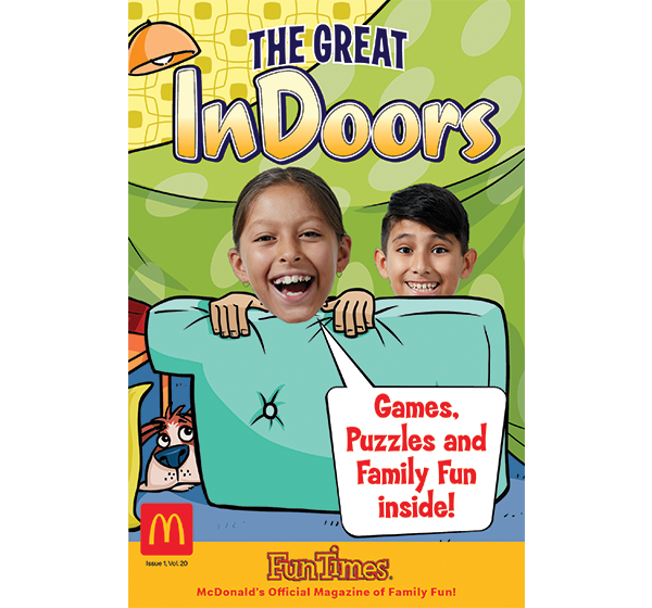 The Great Indoors Activity Book