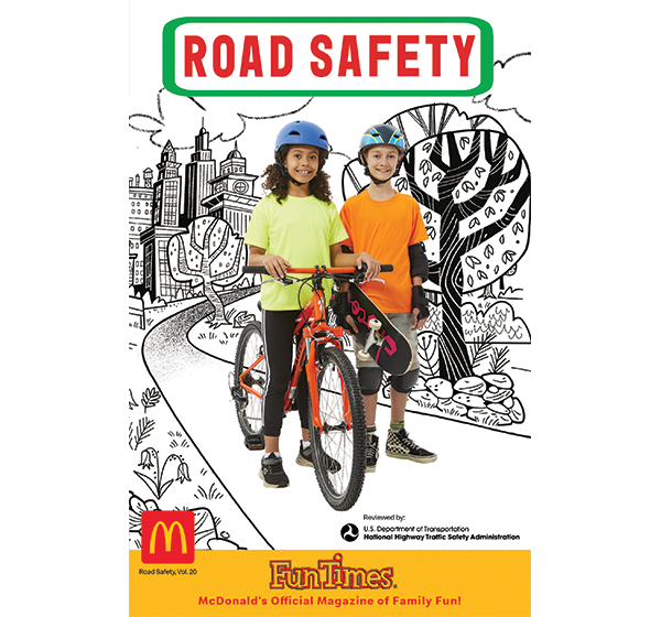 Road Safety Activity Book