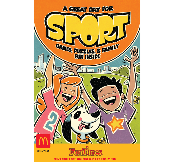 A Great Day for Sport Activity Book