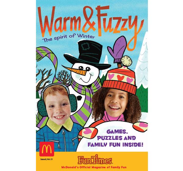 Warm & Fuzzy Winter Activity Book