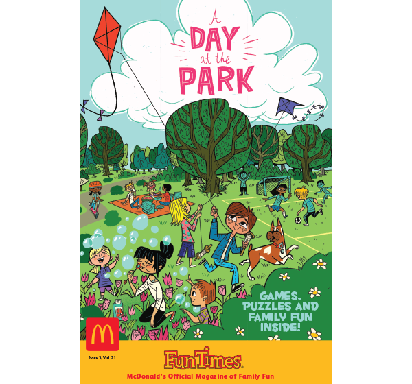 A Day at the Park Activity Book