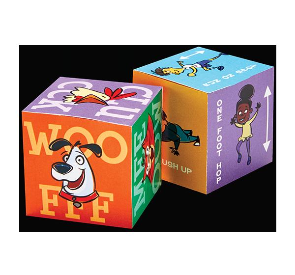 Animal Game Cube